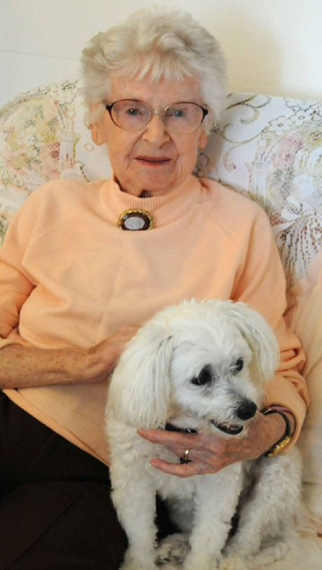 Anne Wakeford, pictured at home with her pet Fluffy, is not confident she will ever see her engagement ring again.