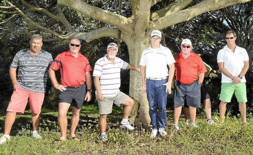 Members of Pelican Waters Golf Club are angry someone stole a memorial chair to honour former member Scott Shellshear.