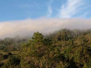 Time lapse of clouds over Sunshine Coast hinterland