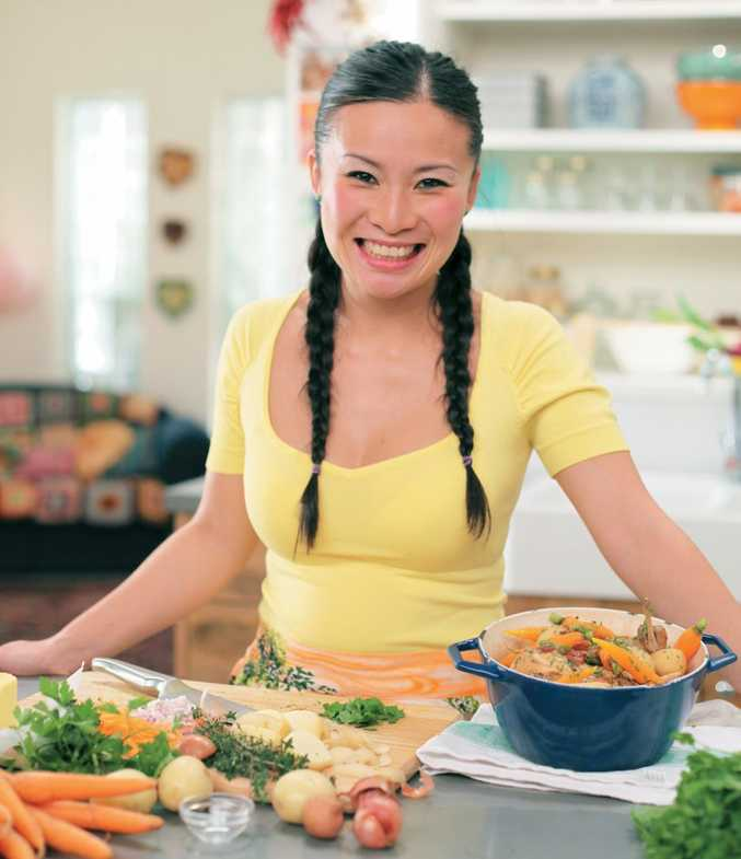 Celebrity chef Poh Ling Yeow is looking forward to cooking with regional ingredients this weekend in Hampton.