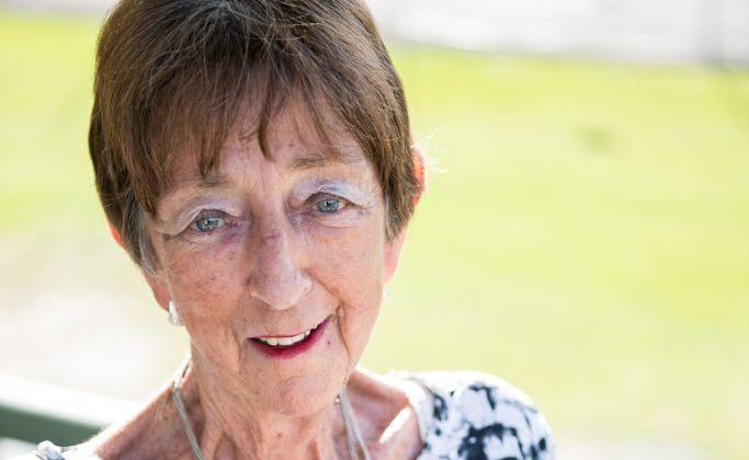 Winner of Red Cross award Betty Watkins Photo: Trevor Veale / The Coffs Coast Advocate