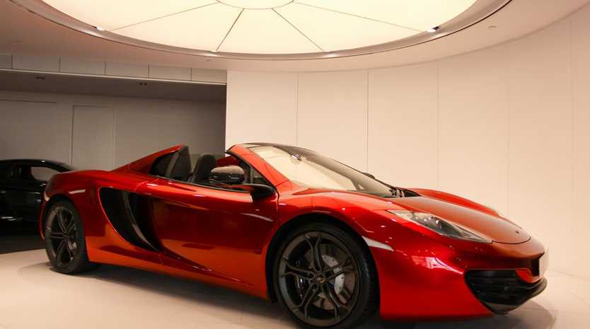 The 2012 McLaren MP4-12C Spider.
