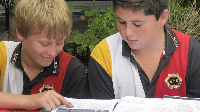 Students at Warwick High School will participate in a program to improve learning.