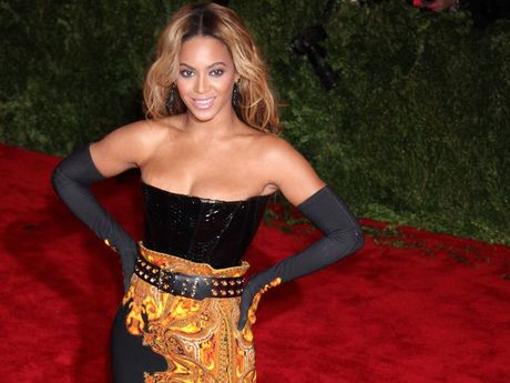 Beyonce at the Met Ball.