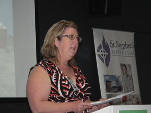 St Stephen's Hospital boss Leanne Tones leaves suddenly