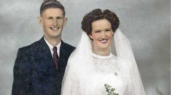 Des and Gladys Keating celebrate 60 years of marriage today.