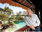 Richard Branson on Makepeace Island in Noosa. FILE IMAGE
