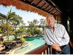 Richard Branson on Makepeace Island in Noosa. FILE IMAGE