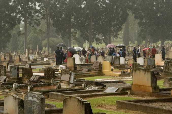 The Drayton and Toowoomba Cemetery.