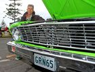 Cooly Rocks On 2012 - Patrick Zwolsman with his green 65 Xp Coupe Photo Blainey Woodham / Daily News