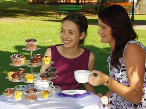 Showgirl entrants will be judged at high tea garden party