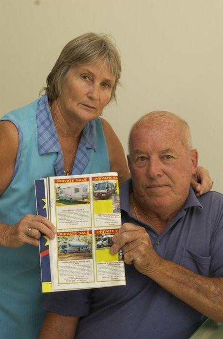 Back in 2005, Wendy and John Ford sold their Winnebago camper trailer to a man who allegedly paid with a counterfeit bank cheque.