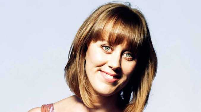HEADLINE ACT: Claire Hooper will perform in Ipswich as part of the International Comedy Festival Roadshow