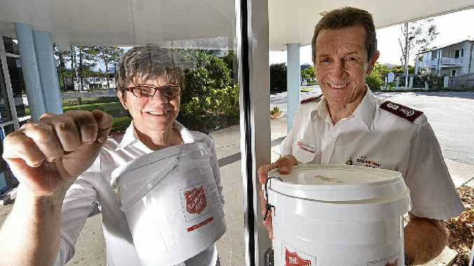 Salvation Army Major Sue and Dennis McGuigan are ready for the annual Red Shield Appeal.