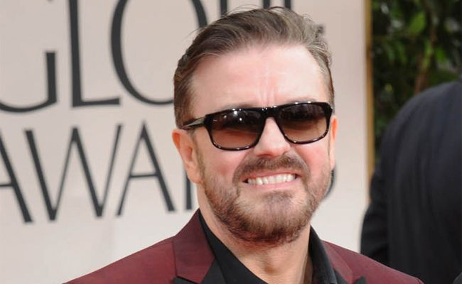 Ricky Gervais says he is a control freak.