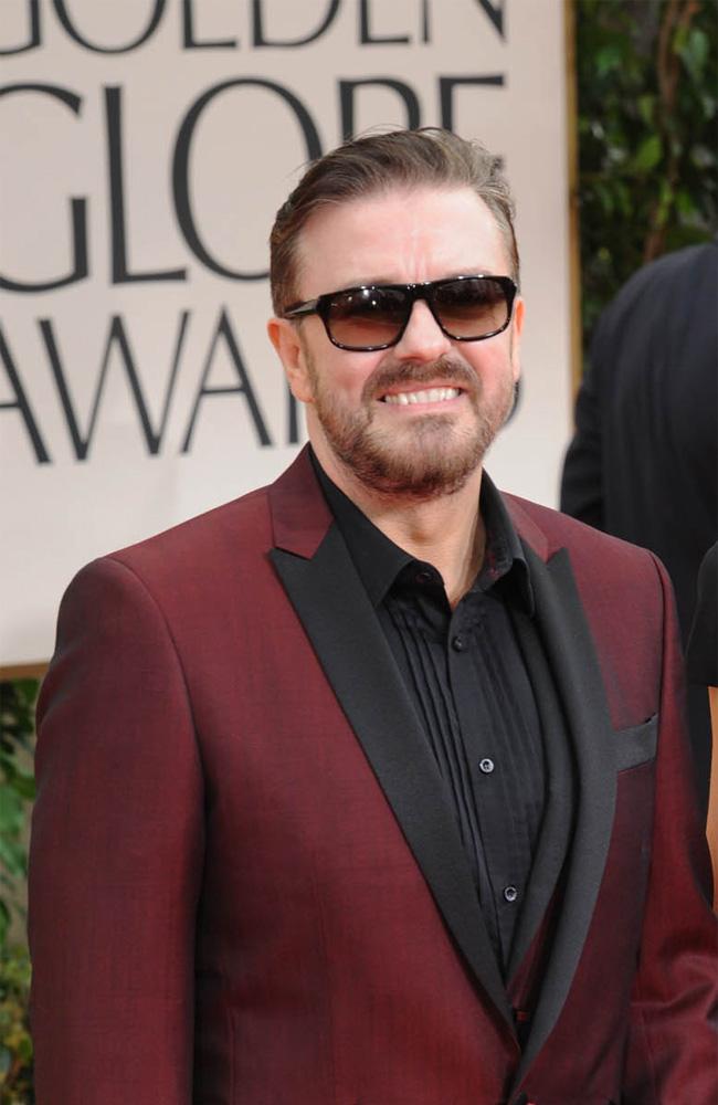 Ricky Gervais.