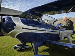Blue Baron tells of his aerobatic exploits