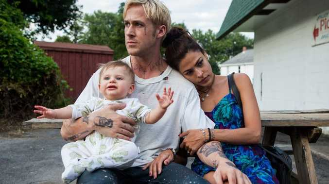 Ryan Gosling and Eva Mendes in a scene from the movie The Place Beyond The Pines.