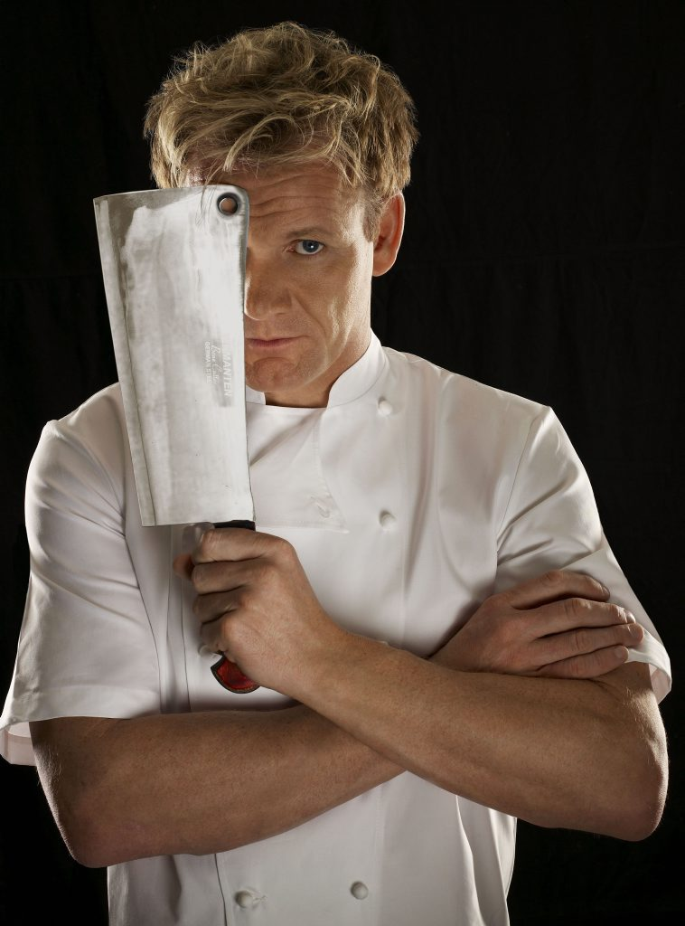 Chef Gordon Ramsay from Kitchen Nightmares.