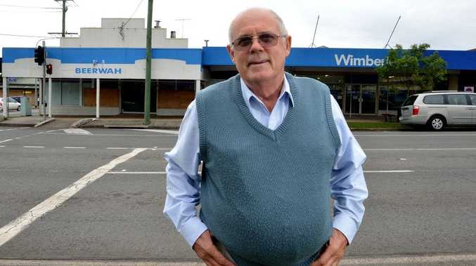 Bob McLean says Beerwah needs a boost in confidence in the main street.