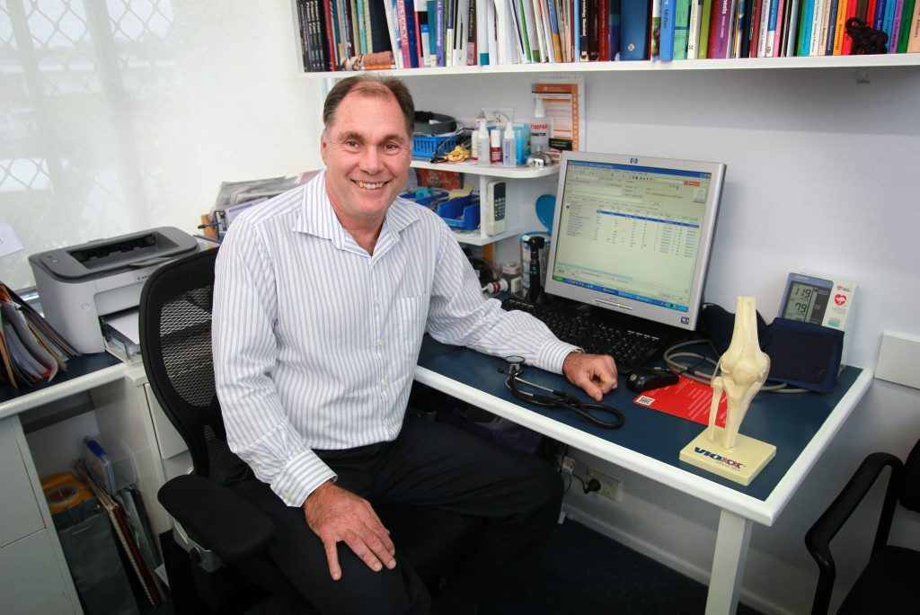 Dr David Raine from Trinity Clinic in Caloundra is a finalist in the Hesta Primary Health Care Awards.