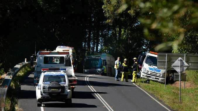 A Byron Bay man was killed in a motorcycle crash at Crabbes Creek on Friday.