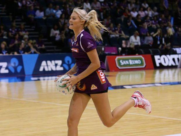 Queensland Firebirds netballer Gretel Tippett