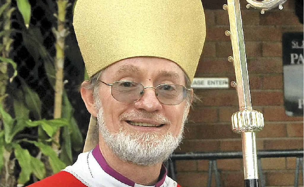 ALL OVER: The former Bishop of Grafton, Keith Slater who resigned yesterday.