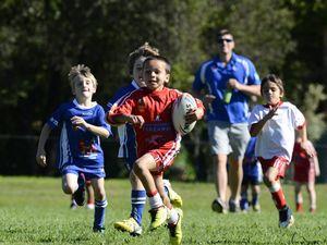 Under 7's league in Grafton