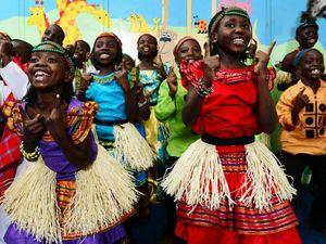 Ugandan choir brings message of hope, love