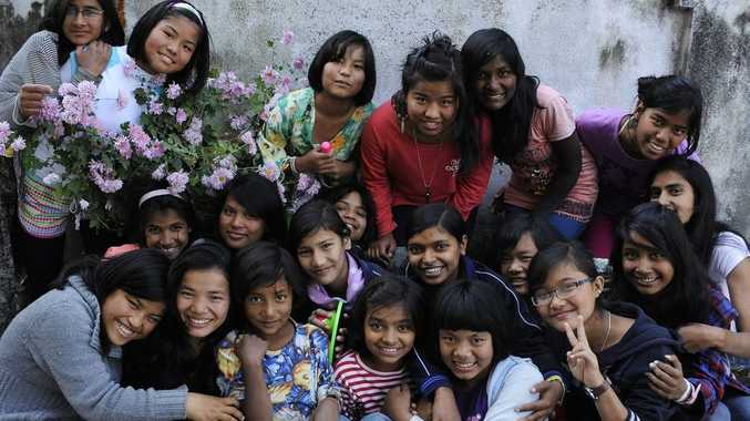 The Forget Me Not Children's Home at Nepal.