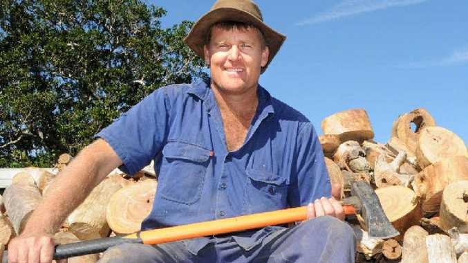 Helping to spread the warmth around our region is Cedar Pocket farmer and firewood supplier Greg Bath, who delivers ute-loads of Gympie messmate around the region.