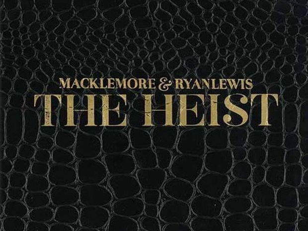 Macklemore and Ryan Lewis, The Heist album cover.