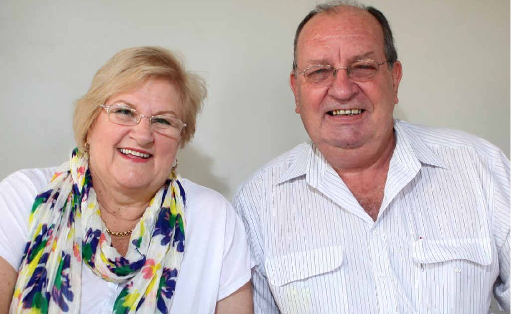 After seeing most of the world, Rockhampton's Colleen and Ross Strelow are looking forward to finally seeing Australia in their latest trip.