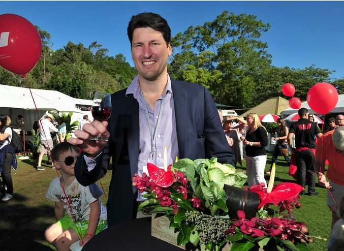 Noosa International Food and Wine Festival 2013. Rugby Legend John Eales made an appearance at the Festival. Photo Geoff Potter / Noosa News