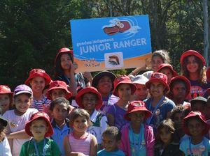 Gundoo Junior Rangers attend first environment project day