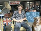 TAKING A BREAK: Jason Adamek is closing his Jonson St shop Big Fish with a giant auction on Saturday to raise funds for Byron Bay's Street Cruise youth workers.
