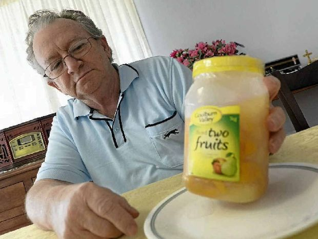 ON THE NOSE: Brian Ross is concerned a Goulburn Valley product he bought from Woolworths may be contaminated.