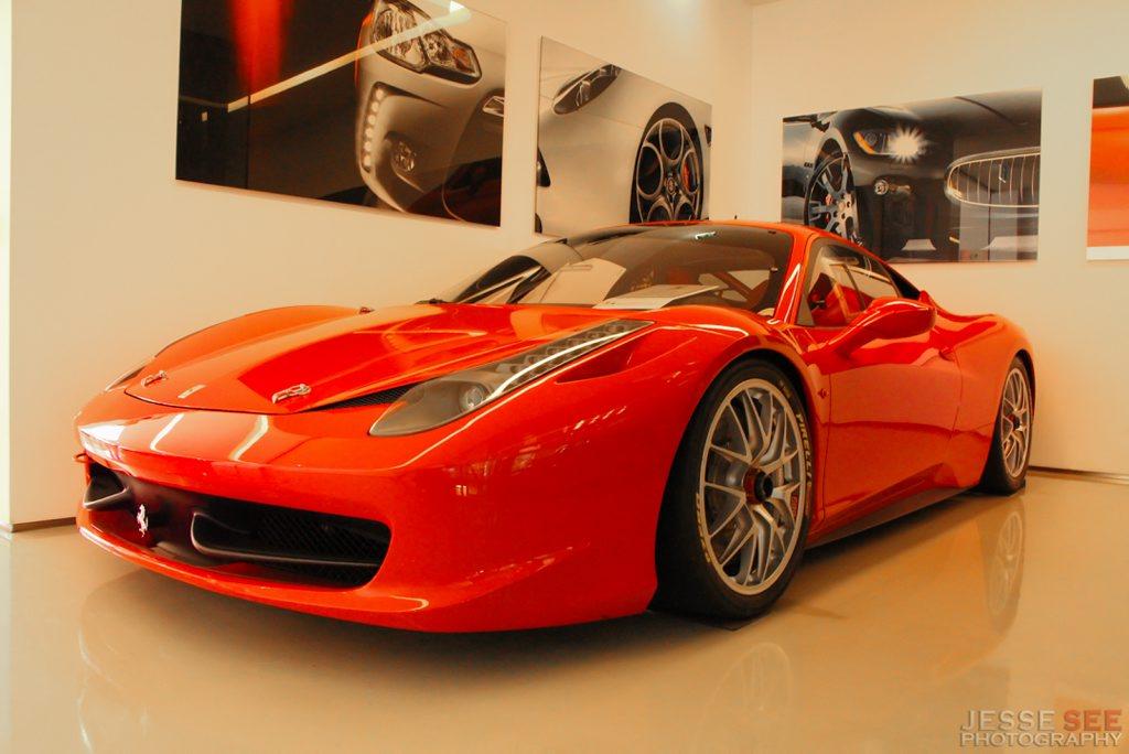 The Ferrari 458 Challenge.