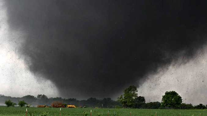 Gympie man Andrew McLellan had a close encounter with a tornado in Oklahoma this week.