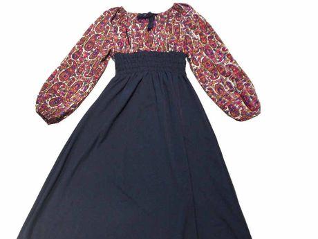 Long Vintage dress, $79, Trash Retro & Vintage, Byron Bay.