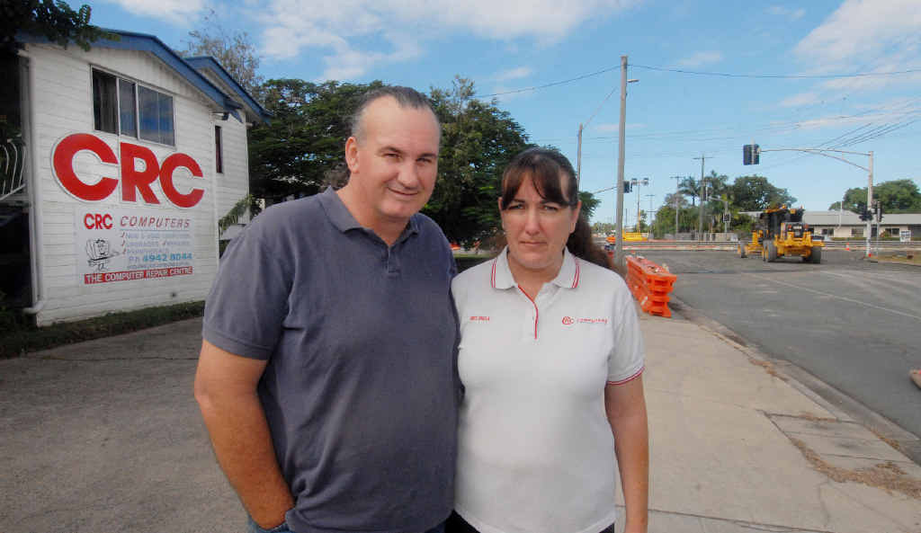 Hugh and Belinda McBroom, of CRC Computers on Malcomson St, will close their business tomorrow.