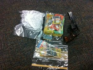 Drugs, cash and guns seized in bikie gang drug raids
