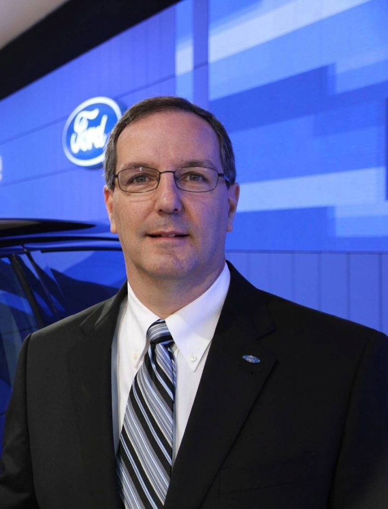 Ford president and CEO Bob Graziano.