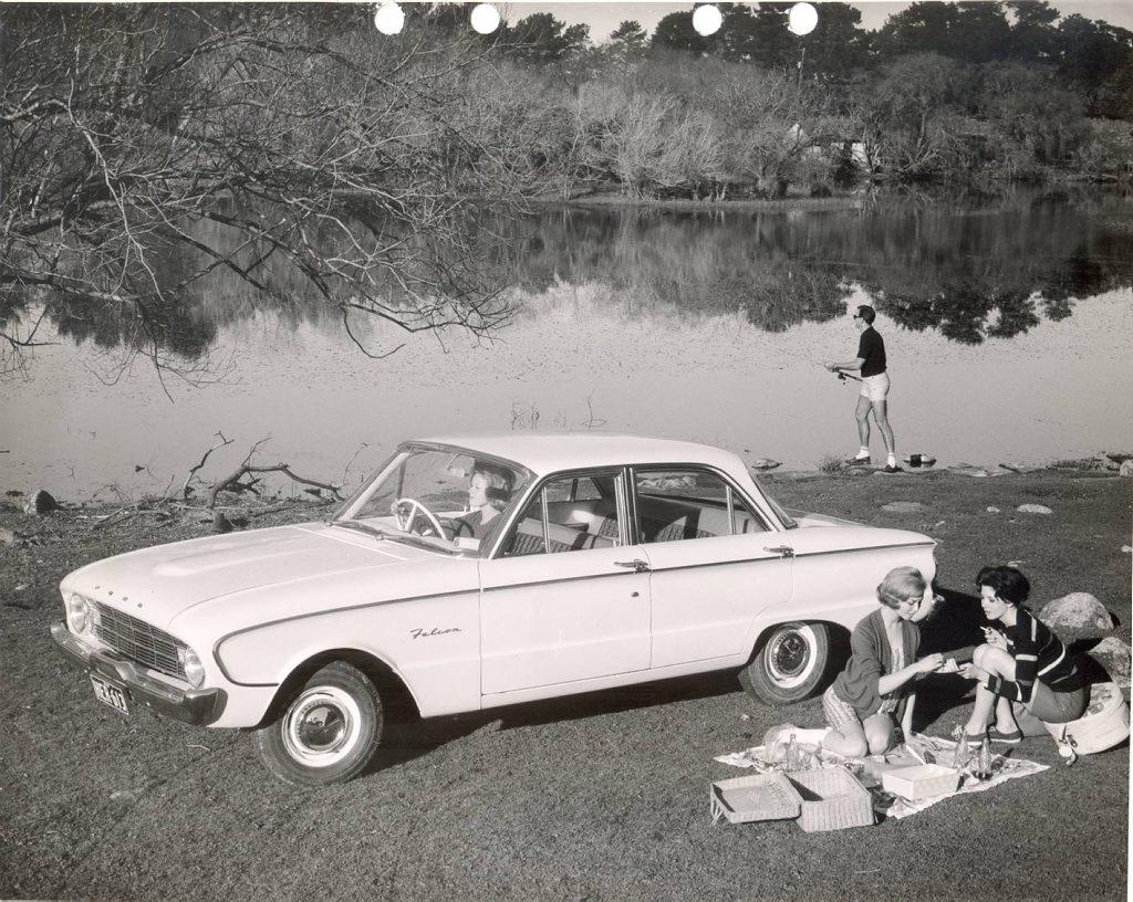 The 1960 XK Ford Falcon.