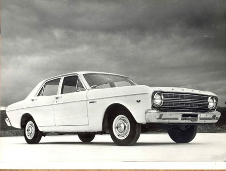 The 1965 XR Ford Falcon.
