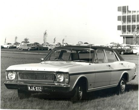 The 1969 XW Ford Falcon.