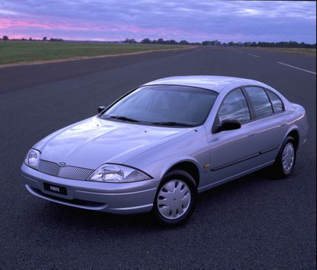 The 1998 AU Ford Falcon.