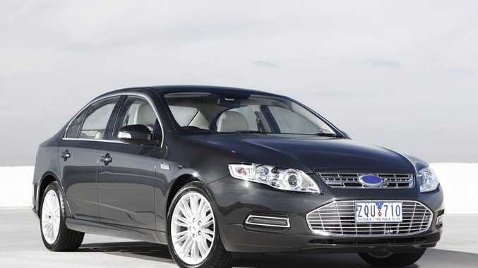 Ford Falcon sales have slumped over the past month.