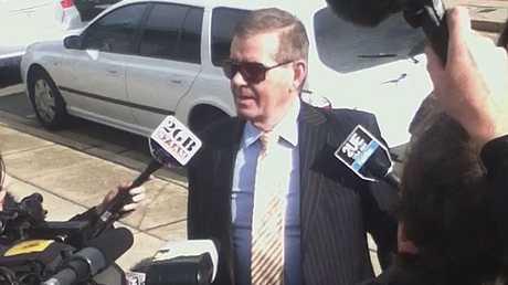 Peter Slipper outside court